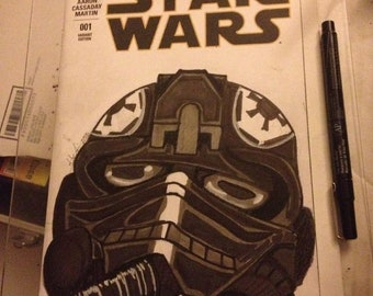 Star Wars Sketch Cover By Studio Mogura