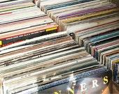 Record Albums - (100) Random Vinyl Records, Large Record Lot, LPs Lot, Vinyl Albums - Mystery Box, Music on Vinyl, Vintage Records, Albums