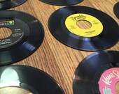 Vintage Record Albums - 45 Records,40 Vinyl Records Lot,Good For Art Projects,Crafts and Decoration,Table Decor,Crafting LOT of (40) Records