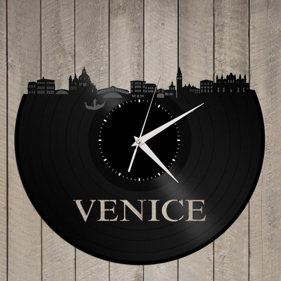 Novelty Gift Venice Clock Travel Birthday
