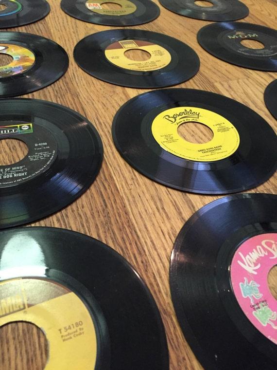 Jahrgang Schallplatten 45 Datensätze 40 Schallplatten Menge Etsy