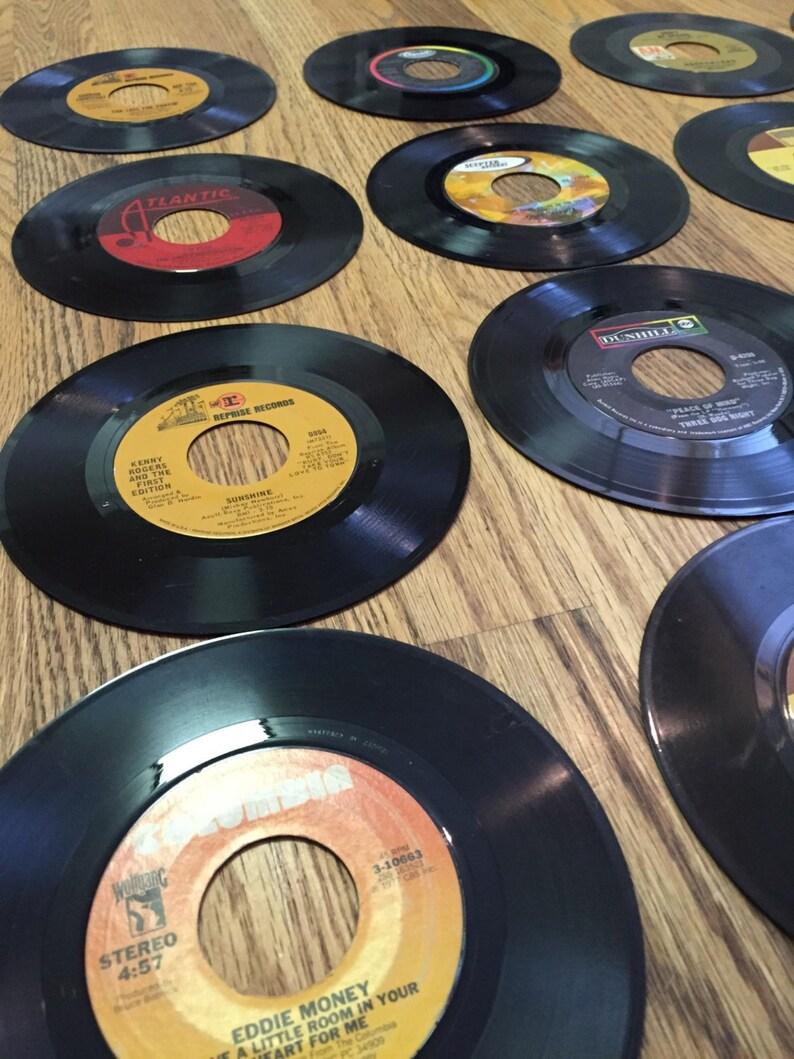 893c1bd69f Decor mural record disques vinyles 50 7 idée de   Etsy