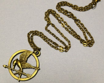 Hunger Games Inspired Mockingjay Pendant