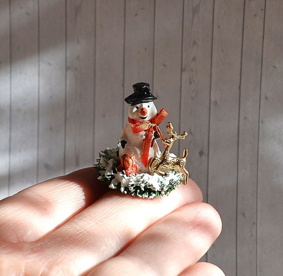 image 0 - Miniature Christmas Decorations For Dollhouses