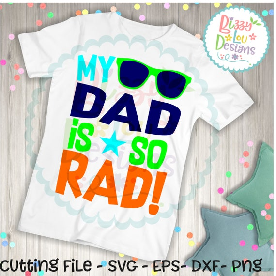 Dad Svg Dxf Eps Png Cut File Dad Svg Fathers Day Svg Daddy Etsy