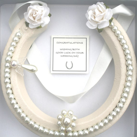 Bridal Wedding Real Lucky HorseShoe Good Luck Gift With
