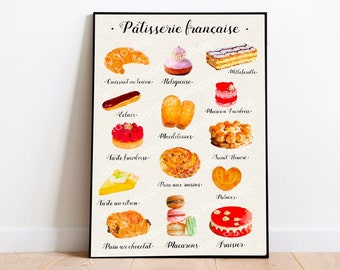 Instant Download Digital Image No.378 Iron-On Transfer to Fabric burlap, linen Paper Prints Poster Size French Vintage Pastry Ad