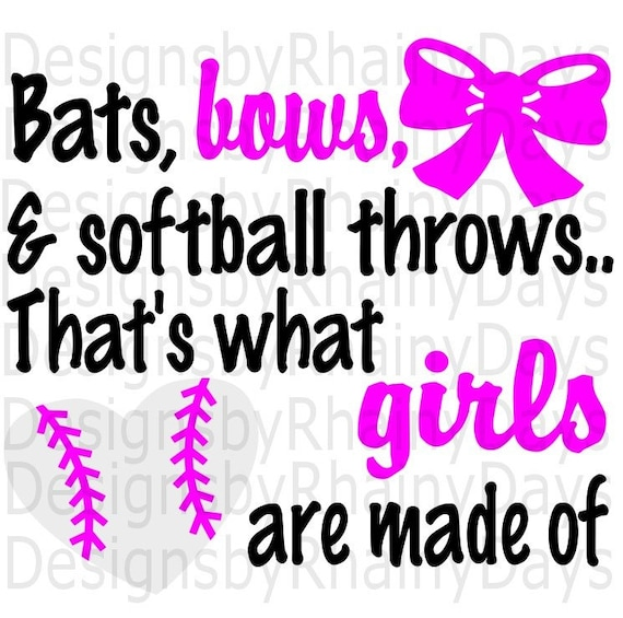Buy 3 Get 1 Free Bats Bows And Softball Throws That S Etsy