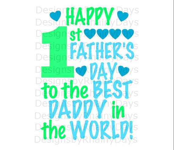 Free Buy 3 Get 1 Free Happy 1st Father S Day To The Best Daddy Etsy SVG, PNG, EPS DXF File
