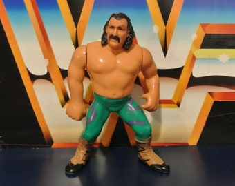 Hasbro WWF wrestling Figure - Jake the Snake Roberts 012
