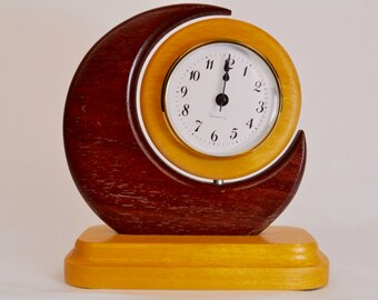 Crescent Desk Clock