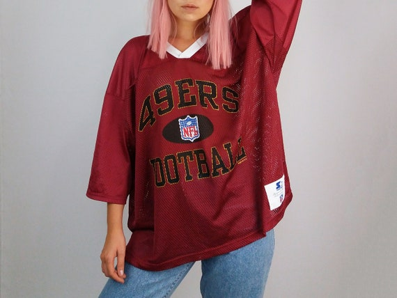 8f60ffdb4 Vintage 90 s NFL Starter Unisex Oversized Jersey T-shirt