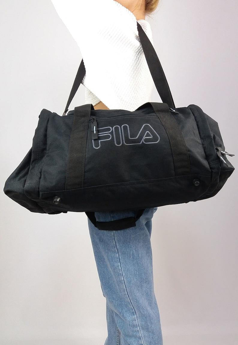 cde8299e2e65 Vintage 90 s FILA Duffel Bag   Sports Bag