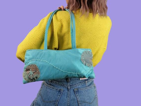 Vintage 90's Y2K Small Shoulder Party Bag Retro Sa