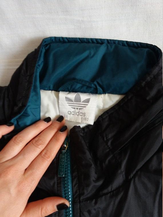 Unisex ADIDAS Jacket Winter Oversized Coat ADIDAS Vintage 90's PxPgnZq7tT