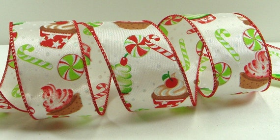 image 0 - Wired Christmas Ribbon