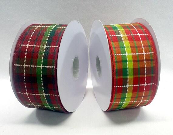 image 0 - Plaid Christmas Ribbon