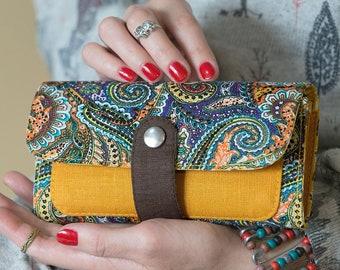 Woman Wallet Gift For Her Vegan Mom Purse Women Birthday