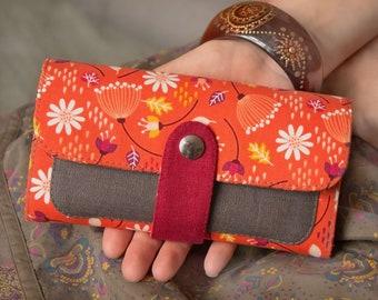 Womens Wallet, Vegan Wallet, Wallet For Women, Gift For Vegan, Vegan Gift, Womens Purse, Fabric Wallet, Gift For Her, Vegetarian Gift, Purse