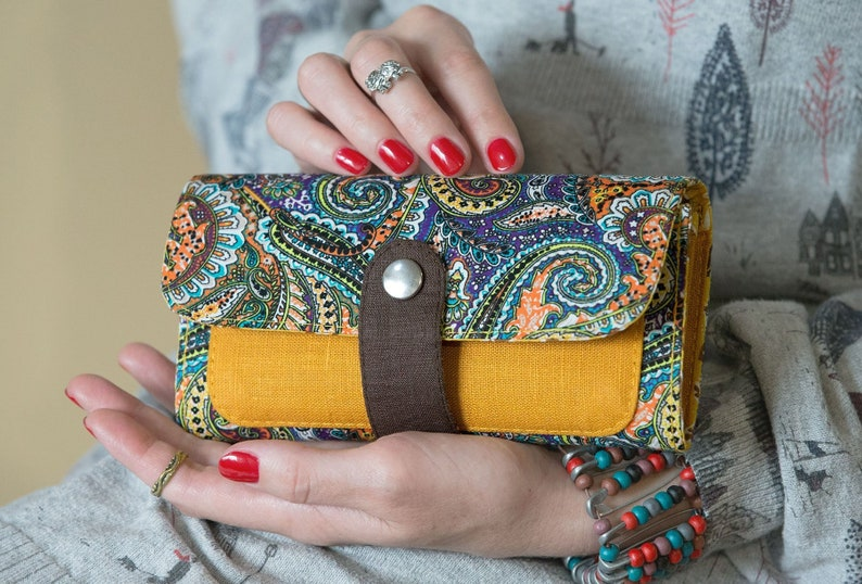 Woman Wallet Gift For Her Vegan