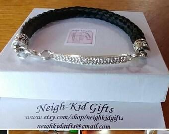 """Custom """"Kay De"""" Horse Hair Bracelet"""