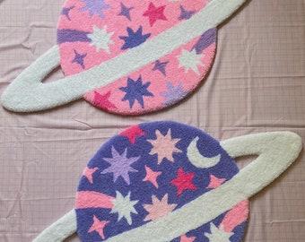 Planet rug - handmade - tufting rug