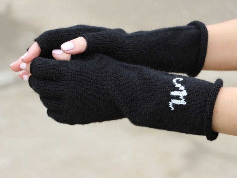 d8f85f6084 Sur mesure personnalisé gants laine gants en tricot femme | Etsy