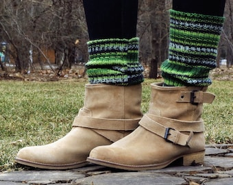 St Patricks day outfit knit boot cuffs saint pattys day green womens boot socks st pattys day state pattys saint patricks day clothing green