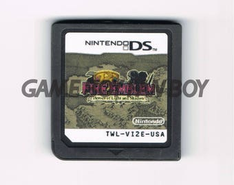 Fire Emblem: New Mystery of the Emblem ENGLISH DS Cart Fan Translation (*for Nintendo DS Lite only*) Heroes of Light and Shadow Cartridge