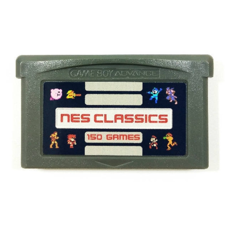 150-in-1 NES Classics for Nintendo GBA Gameboy Advance multicart Cartridge  Mario Zelda Megaman Castlevania Final Fantasy - Free Shipping!