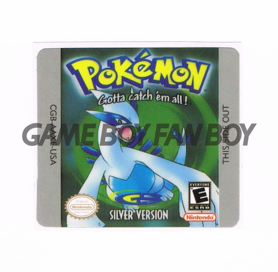 pokemon silber gbc
