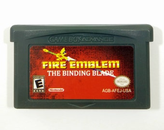 Fire Emblem 6: The Binding Blade Sword of Seals ENGLISH GBA Cart Fan Translation for Nintendo Game Boy Advance RPG * Hard Mode Unlocked!