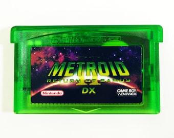 Metroid II 2 DX: Return of Samus (Full Color) for GBA Game Boy Advance cartridge - Free Shipping!