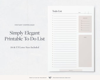 printable to do list etsy