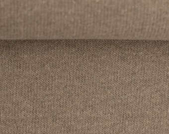 Knitted fabric Bono beige by Swafing 50 cm x 160 cm