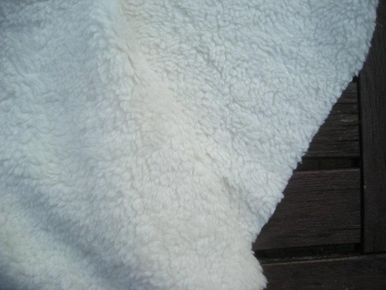Teddy plush cotton 70 cm x 100 cm image 0