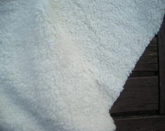 Teddy plush 1 m eco cotton
