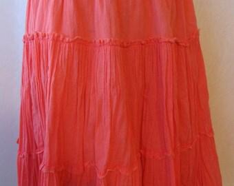 e3ff5ba6c3 Provincial skirt,beach skirt,garden holiday skirt,vintage boho skirt,cinderella  skirt,provincial skirt,ethnic skirt,elastic waist skirt