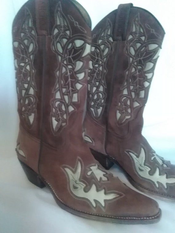 Sancho cowboy boot,leather western boots,Cowboy bo