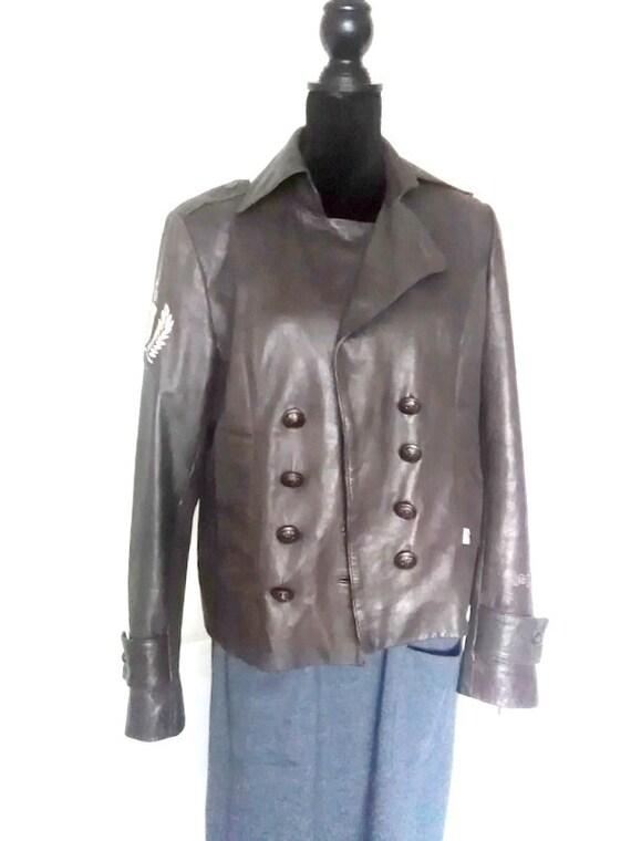 autumn clothes,autumn leather jacket,vintage men l