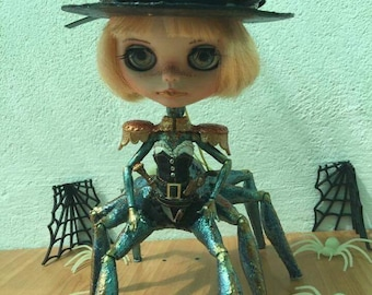 Theli Blythe Doll OOAK Steampunk