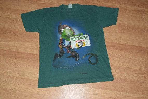 Frog Ventoori 90s Vintage Shirt Muppets Jim Henson