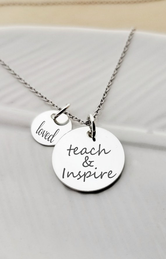 Mother of the bride laser etched charm with an accent bead in your choice of colors Mother of the Bride Charm Necklace