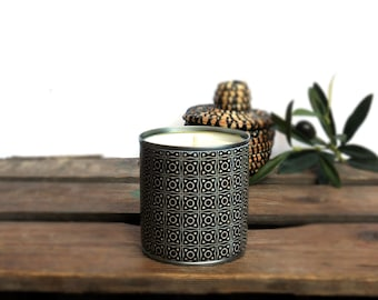 Upcycling Arya vegetable in 100% natural soy wax and vegan, recycled metal candle