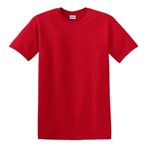 Gildan Blank Youth Unisex 5 3 Oz T Shirt Blank Tee Shirt Etsy