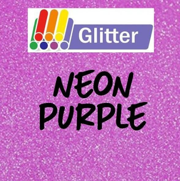 Siser Glitter Heat Transfer Vinyl Iron On Htv Neon Etsy