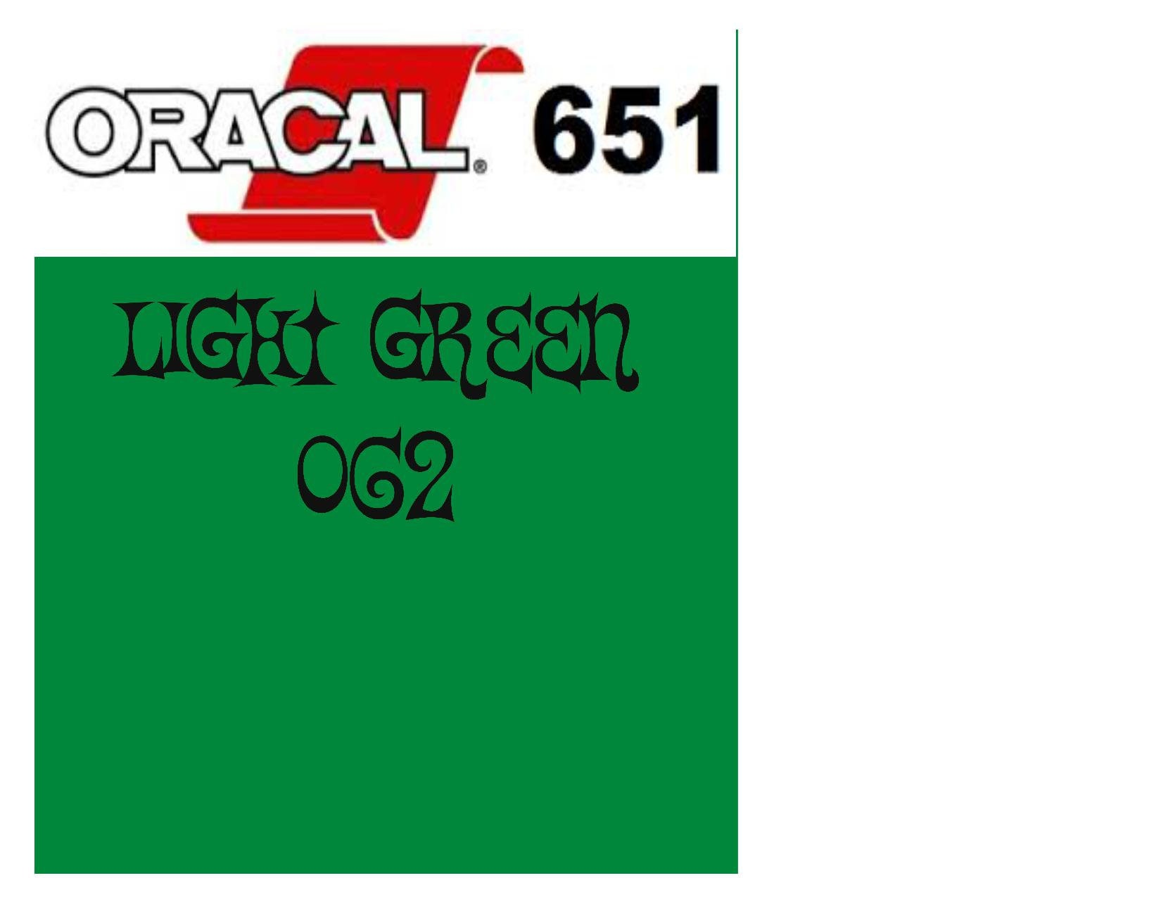 image about Oracal 651 Printable Vinyl identified as Oracal 651 Adhesive Vinyl 062 Mild Inexperienced