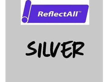 ReflectAll Siser Heat Transfer Vinyl - Reflective HTV - Silver