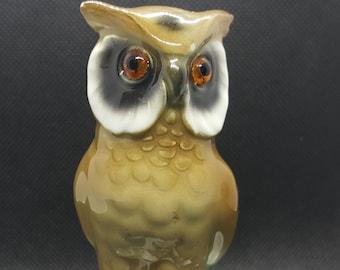 Free Shipping Rare Vintage Gerold Porzellan Squirrel Figurine Gift Bavaria Tettau Germany 1970s Hand-painted Porcelain