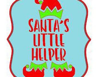 Santa's Little Helper Stencil By 2t's